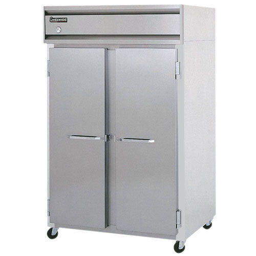 Continental Refrigerator Value Line Standard Solid Door Pass-Thru Freezers - 2 section 2F-PT