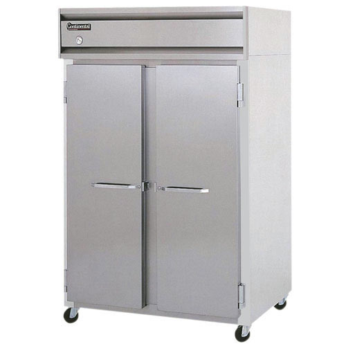 Continental Refrigerator Value Line Standard Solid Door Reach-In Refrigerators - 2 section 2R