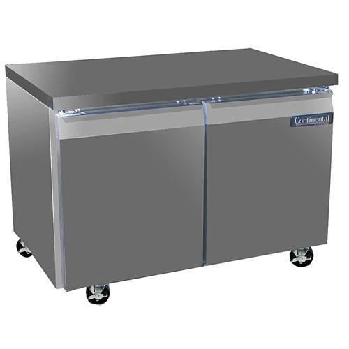 "Continental Refrigerator Standard Line 48"" Worktop Refrigerator - 2 section SW48"