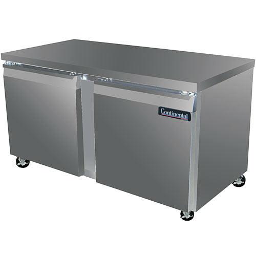 "Continental Refrigerator Standard Line 60"" Worktop Refrigerator - 2 section SW60"