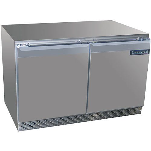"Continental Refrigerator Standard Line 48"" Undercounter Refrigerator - 2 section UC48"