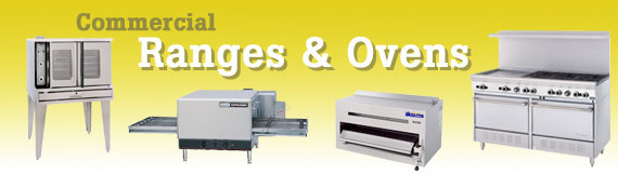 Commercial Ranges and Ovens