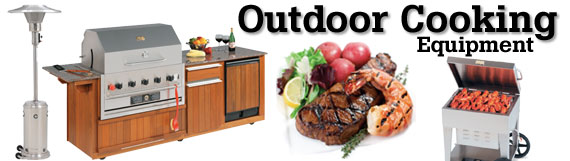 Commercial outdoor cooking equipment at kirby for Outdoor kitchen equipment