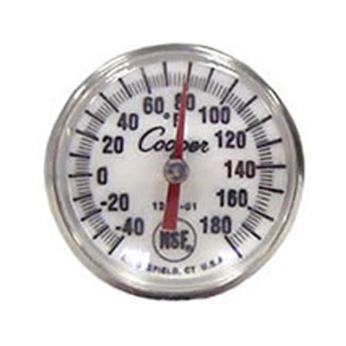 Cooper Atkins Bi-Metal Pocket Test Thermometer -40 to -180°F 1246-01-1