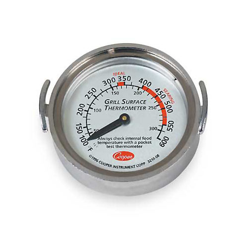Cooper Atkins Bi-Metal Grill Thermometer 3210-08-1-E