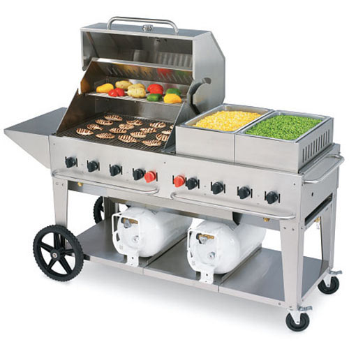 Crown Verity Club Grill Mobile Outdoor Charbroiler CCB-60-LP
