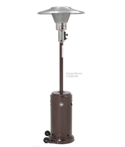 buy crown verity cv 2650 ab portable patio heaters at kirby