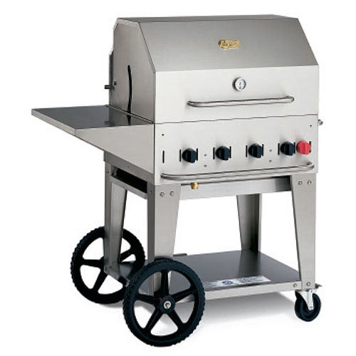 "Crown Verity Mobile Outdoor Charbroiler 30"" MCB-30LP"