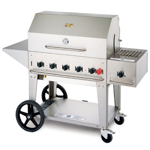 "Crown Verity Mobile Outdoor Charbroiler 36"" MCB-36LP"