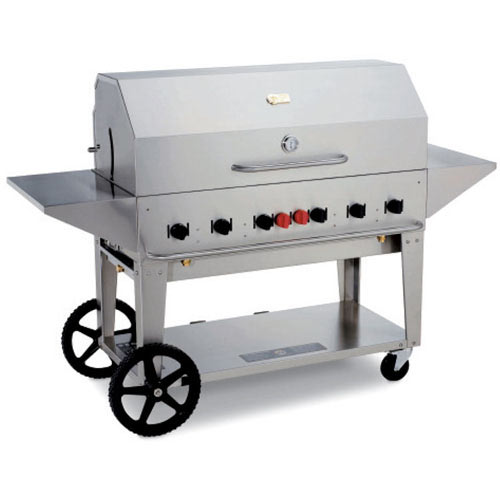 "Crown Verity Mobile Outdoor Charbroiler 48"" MCB-48LP"