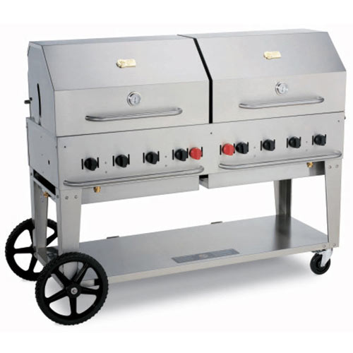 "Crown Verity Mobile Outdoor Charbroiler 60"" MCB-60LP"