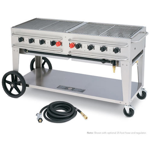 Crown Verity Rental Grill RCB-60-SI-LP