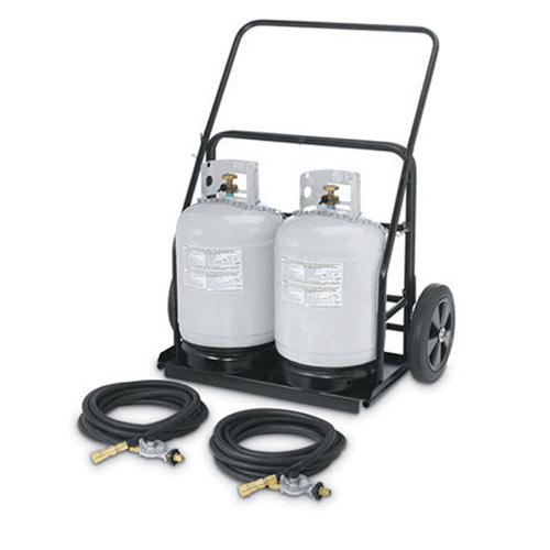 Crown Verity Remote Propane Cart RPS-486072