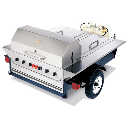 "Crown Verity Tailgate Grill  48"" TG-1"