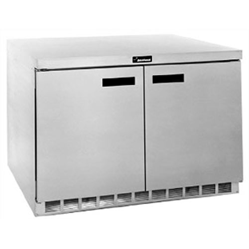 "Delfield 48"" Worktop Refrigerator- 2 Section 4448N"