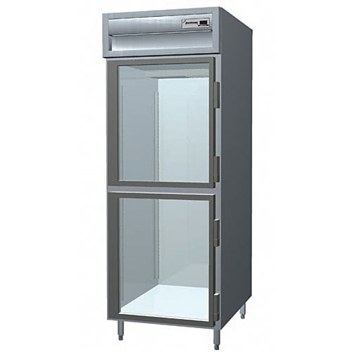 Delfield Glass Half Door Reach-In Freezer - 1 Section SSF1-GH