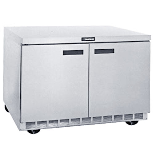 "Delfield 48"" Undercounter Refrigerator- 2 Section UC4448N"