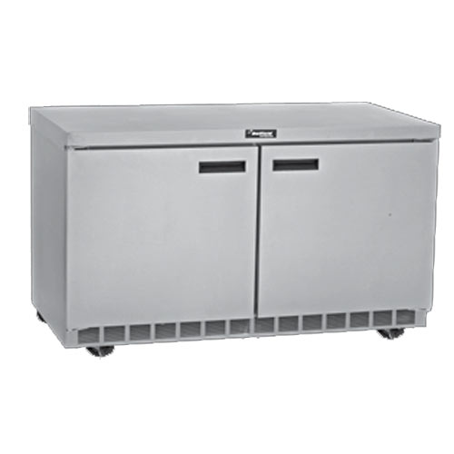 "Delfield 64"" Undercounter Refrigerator- 2 Section UC4464N"