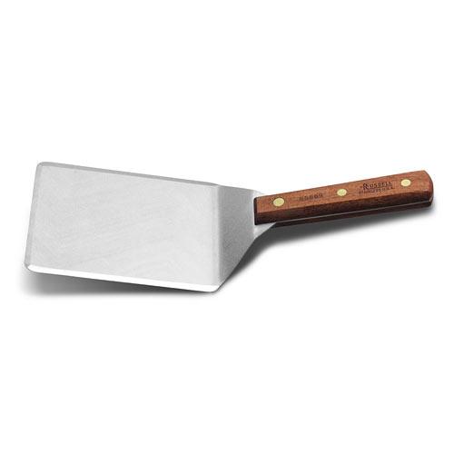 "Dexter Russell Traditional Hamburger Turner - 6"" x 5"" 85869"