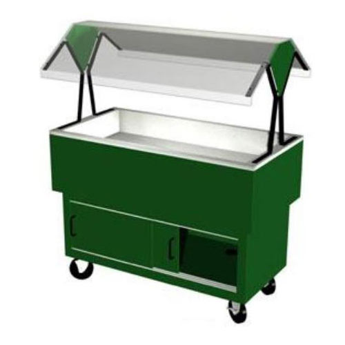 Duke EconoMate Cold Food Pan Portable Buffet, 3 Sections DPAH-3CP