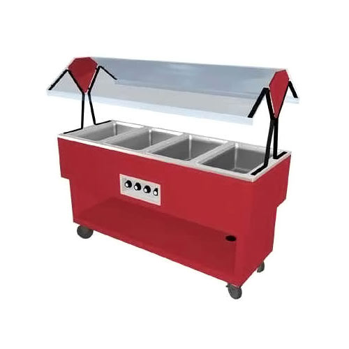 Duke EconoMate Hot Food Portable Buffet, 4 Sections DPAH-4HF