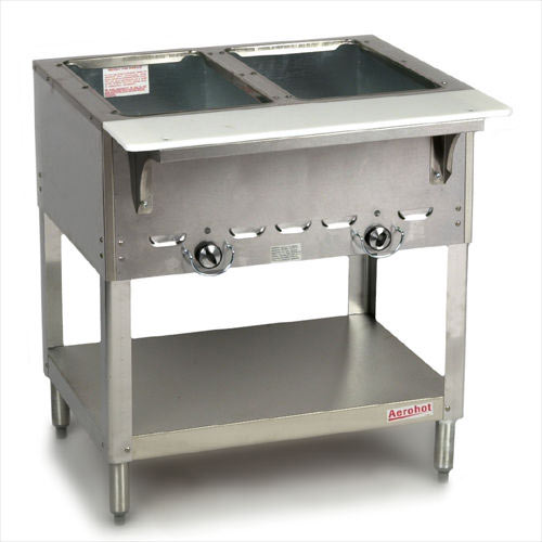 Duke Aerohot Electric Steamtable - 2 Wells E302