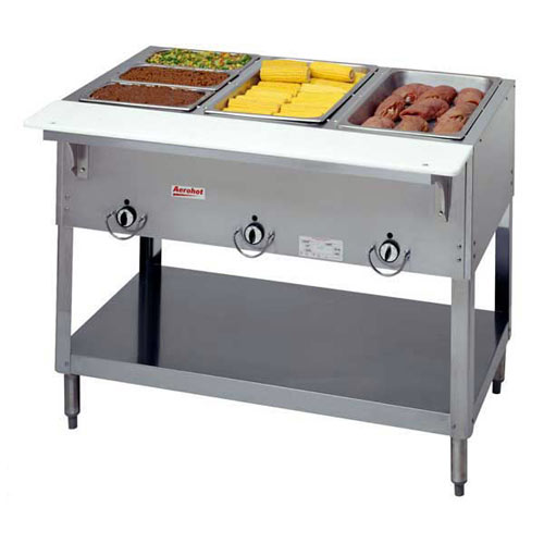 Duke Aerohot Electric Steamtable - 3 Sealed Wells E303SW