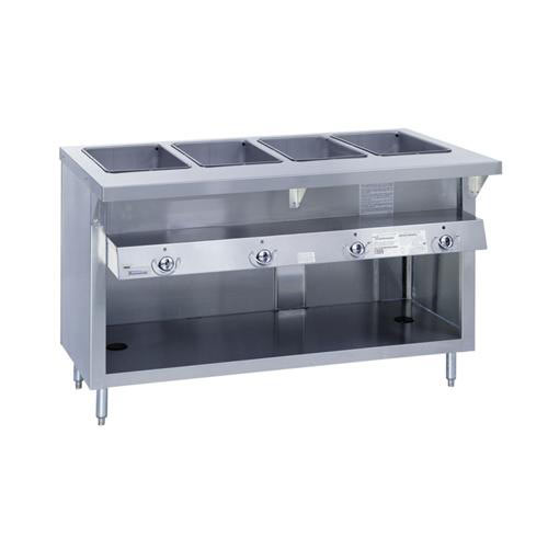Shop Gas Steam Tables Buffets Steam Tables At Kirby - 4 well gas steam table