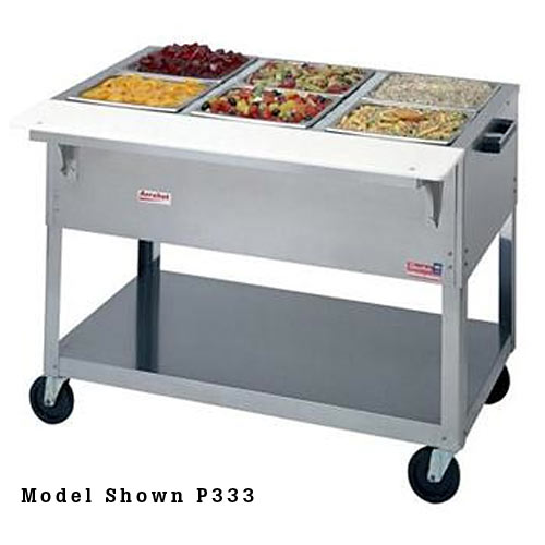 "Duke Aerohot Portable Cold Pan Units- Ice Cooled 58 3/8"" P334"