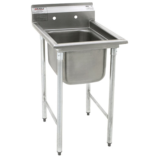 "Eagle 1-Compartment Sink 16"" 414-16-1"