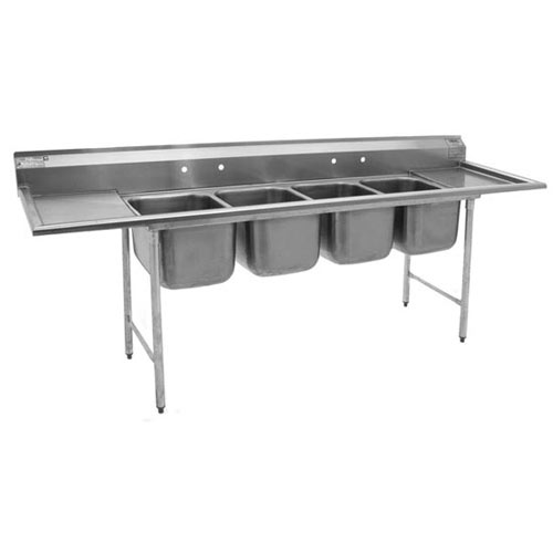 Shop Compartment Sinks W Double Drainboards Dishwashing
