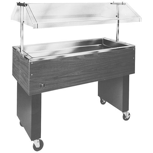 "Eagle 33"" Deluxe Service Mates Portable Buffet Cold Pan Units BPCP-2"