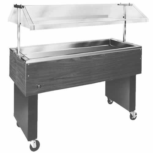 "Eagle 48"" Deluxe Service Mates Portable Buffet Cold Pan Units BPCP-3"
