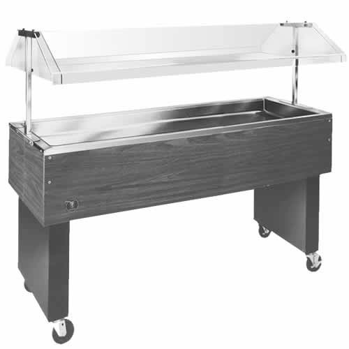 "Eagle 68.5"" Deluxe Service Mates Portable Buffet Cold Pan Units BPCP-4"
