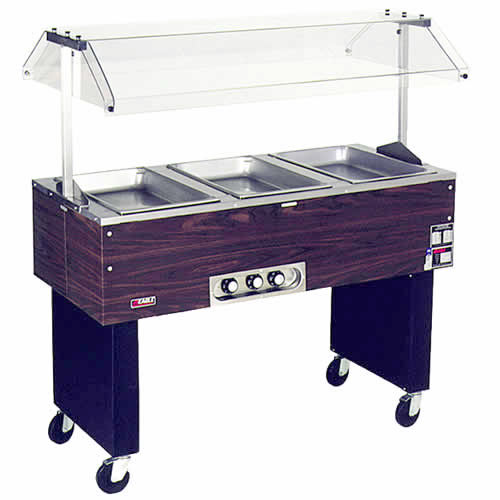 Eagle 2 Well Deluxe Service Mates Portable Hot Food Buffet BPDHT2-120