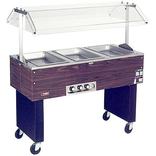 Eagle 3 Well Deluxe Service Mates Portable Hot Food Buffet BPDHT3-120