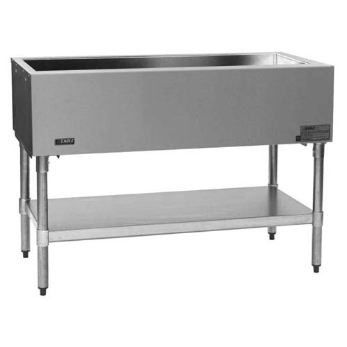 "Eagle Stationary Open Base Cold Pan Unit - 66"" SCP-4"