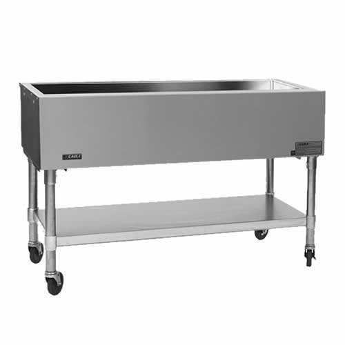 "Eagle Portable Open Base Cold Pan Unit - 66"" PCP-4"