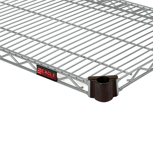"Eagle Valu-Master Quad-Adjust Wire Shelving 72"" X 18""  QA1872V"