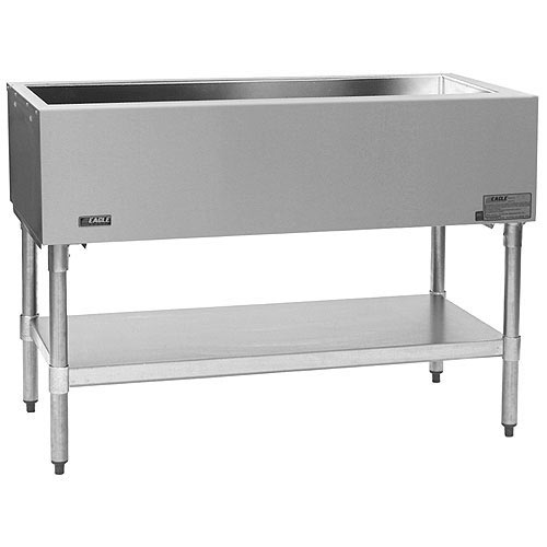 "Eagle Stationary Open Base Cold Pan Unit - 48"" SCP-3"