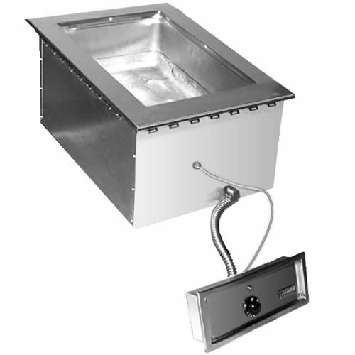 Eagle 1 Well Electric Hot Food Gang Drop-In Unit & Drain SGDI-1-120T-D