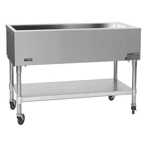 "Eagle Portable Open Base Cold Pan Unit - 50 1/2"" SPCP-3"