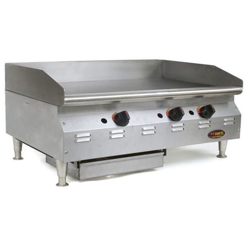 "Eagle RedHots Chef's Line Electric Griddles - 48""  CLEGH-48-240"