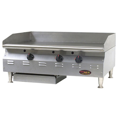 "Eagle RedHots Chef's Line Thermostatic 24"" Gas Griddles  CLAGGHT-24-NG"