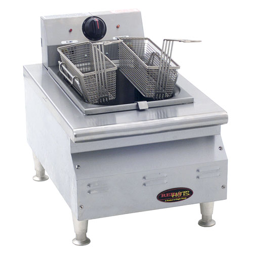 Eagle RedHots Chef's Line Single-Tank Electric Fryer CLEF10-240