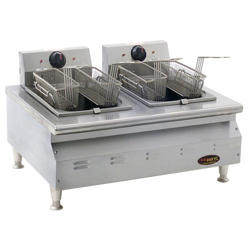 Eagle RedHots Chef's Line Double-Tank Electric Fryer CLEF102-240