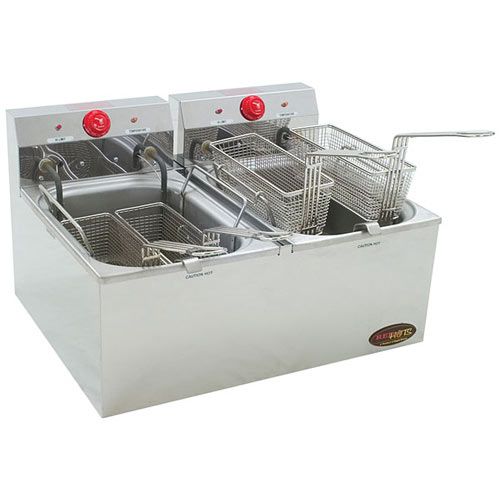 Eagle RedHots Double-Tank Electric Fryer EF102-240