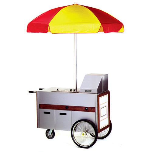 Eagle Hot Food Merchandising Cart  HDC48-120NYF