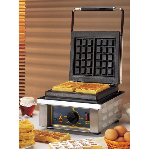 Equipex Sodir Sierra Electric Waffle Baker, Single GES