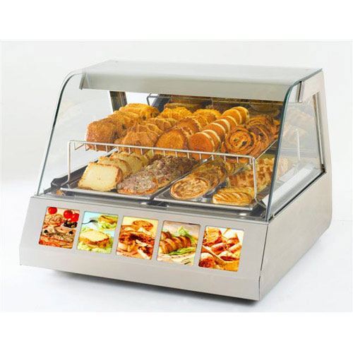 Equipex Sodir Countertop Heated Display Case HOT-200